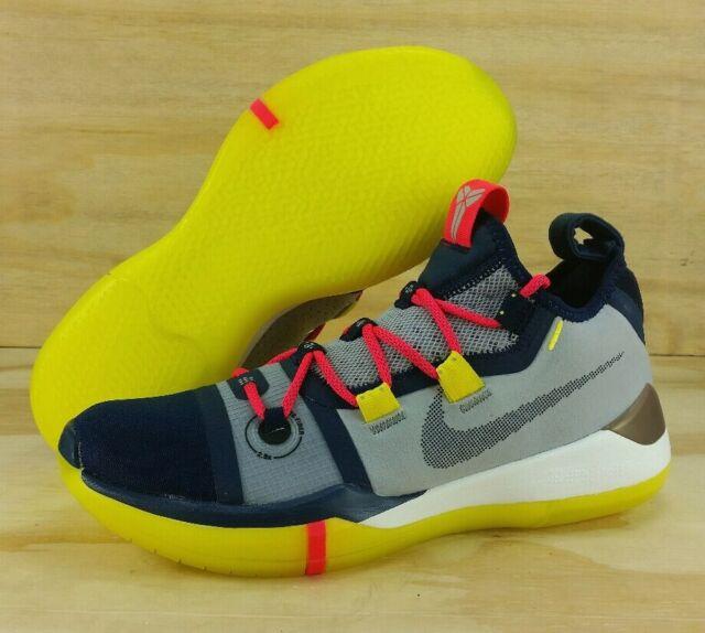 bfb154e50b4b Nike Kobe AD Exodus The Legacy AV3555 100 Sail Multi-color Mamba Day Size 8
