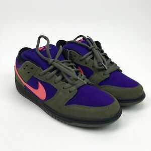 8f479b7f8592 Image is loading Nike-Dunk-SB-Low-Olive-Atomic-Red-304292-