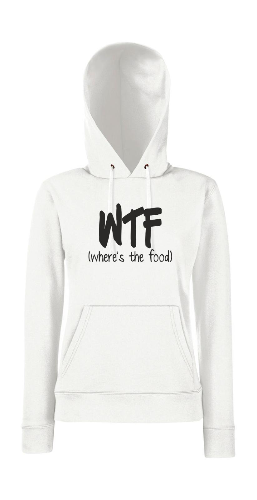 Wtf i Fun i i i Digreenido i Eslogans Femenino Jersey Capucha 2b5d88