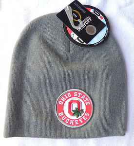 OHIO-ST-BUCKEYES-GRAY-COLLEGE-FOOTBALL-PLAYOFF-CFP-CHAMP-KNIT-CAP-HAT-NWT