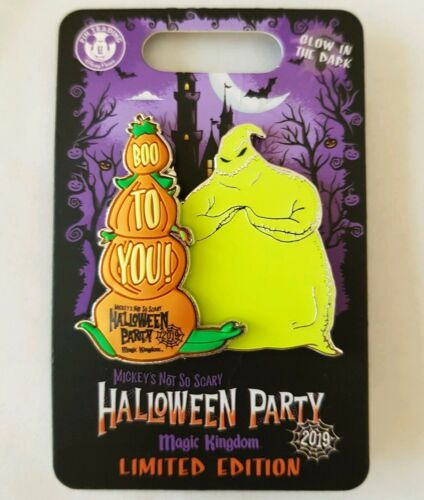 Disney World 2019 Mickeys Not So Scary Halloween Party Oogie Boogie LE Pin RARE