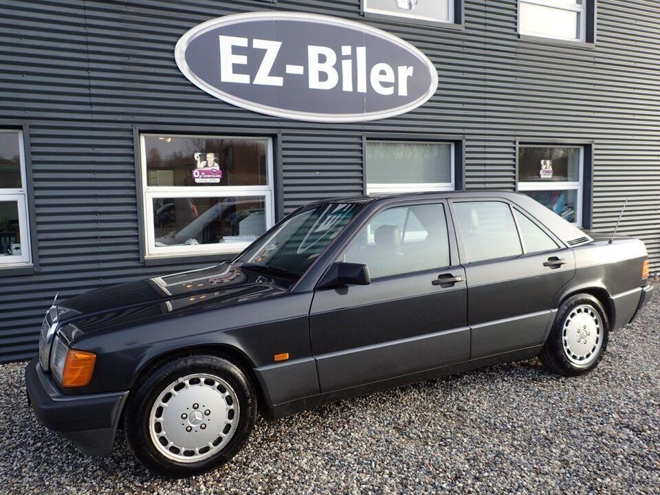 Mercedes 190 E 2,3 Benzin modelår 1989 km 355000 Koksmetal