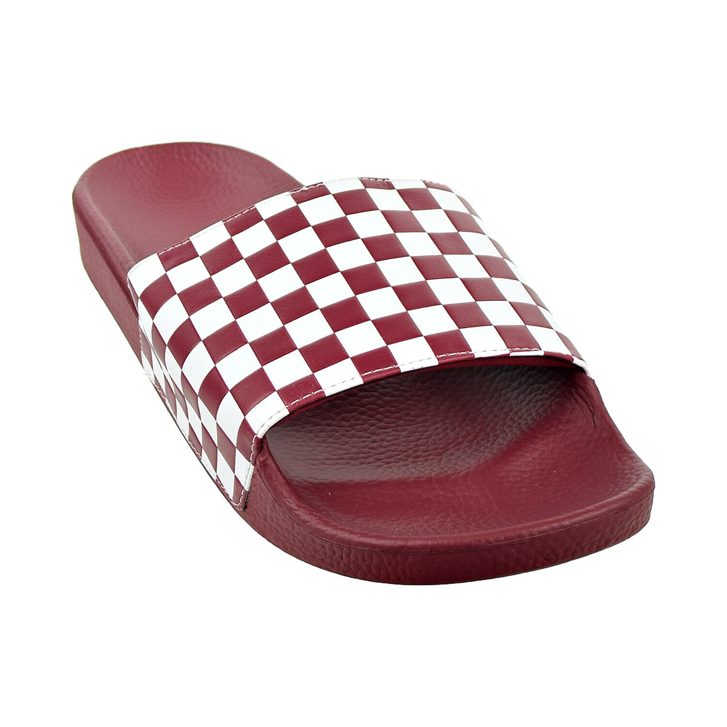 Vans Slide-on para hombre diapositivas Checker Board Rumba Rojo VN0A45JE-VGF