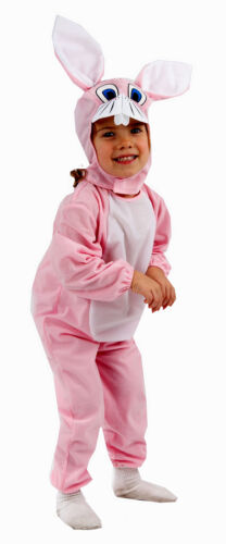 Fancy Dress Toddler Pink Bunny Outfit Under 4s