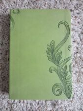 HCSB Personal Size Bible- Green Seaweed Vine Embossed Imitation Leather- Ribbon