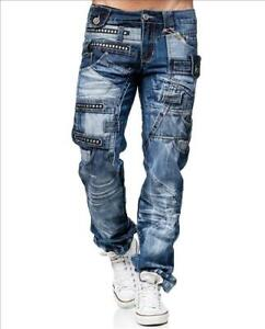 KOSMO-LUPO-Herren-Jeans-Hose-Denim-Japan-Style-NEU-KM001