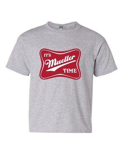 It/'s Robert Mueller Time USA Support Political DT Youth Kids T-Shirt Tee