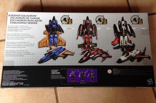 Transformers Platinum Edition SEEKER SQUADRON Ramjet Thrust Dirge Decepticons