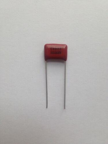 5x Polypropylen Folienkondensator 0,01µF 630V CBB22 10nF Film Kondensator 103J