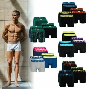 CR7 Cristiano Ronaldo - BASIC - Boxershorts/Retroshorts für Herren - 6-Pack
