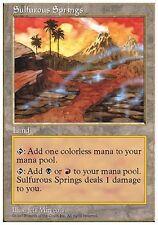 Sorgenti Sulfuree - Sulfurous Springs MTG MAGIC 5E English
