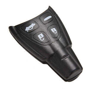 Remote-Key-Shell-FOB-Blank-Case-4-Button-Repalcement-For-SAAB-9-3-9-5-93-95-SL