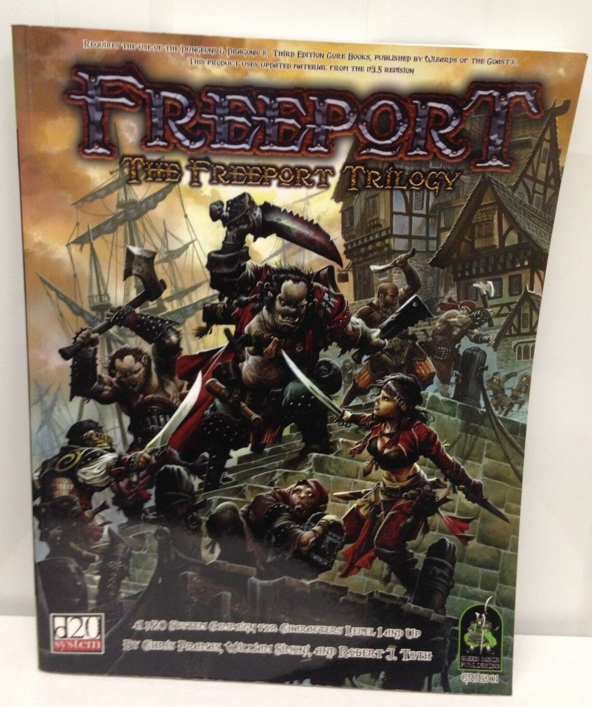Freeport D20 AD&D - The Freeport Trilogy - New
