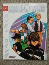 The Art of Gundam Wing art book FIRST PRINTING April 2001 Anime Art Gallery