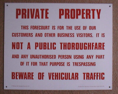 FERGUSON Rustic Tin Sign Funny Gift Ideas PPBW 0173 Beware Protected by MRS