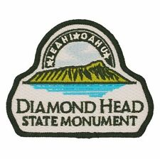 Official Diamond Head State Monument Souvenir Patch Le'ahi Honolulu, Hawaii Oahu
