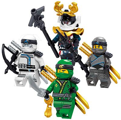 LEGO NINJAGO FS ELEMENTAL SET KAI JAY COLE ZANE LLOYD NYA GEN VEX ICE EMPEROR