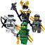 LEGO-NINJAGO-SET-ZANE-COLE-NYA-KAI-JAY-GOLDEN-LLOYD-WU-GARMADON-HARUMI-SAMURAI-X thumbnail 5