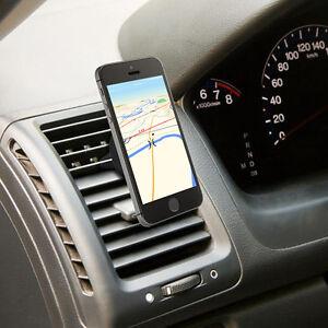 Universal Car Magnetic Air Vent Mount Clip Holder Dock For