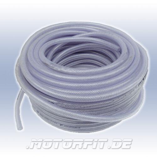 10mm Ø Trinkwasserschlauch Wohnmobil PVC-Gewebeschlauch für Tauchpumpen Garten
