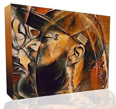 Nipsey Hussle Brown Shades HD canvas wall art fine print