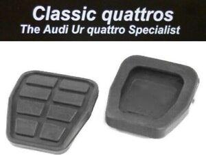 NEW-BRAKE-CLUTCH-PEDAL-RUBBERS-AUDI-UR-QUATTRO-TURBO-COUPE-QUATTRO-COUPE-80-90