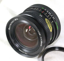 Exceptional Rollei ROLLEINAR MC 28mm f 2.8 wide lens for Rolleiflex SL, SL 35E