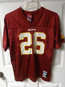 Image is loading Vintage-Reebok-Washington-Redskins-Clinton-Portis-26 -Football- c3991c6bb