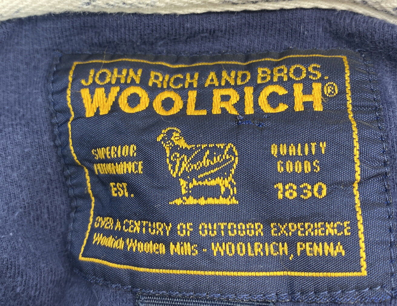 Woolrich John Rich and Bros Mens Size XL Tall Pol… - image 5
