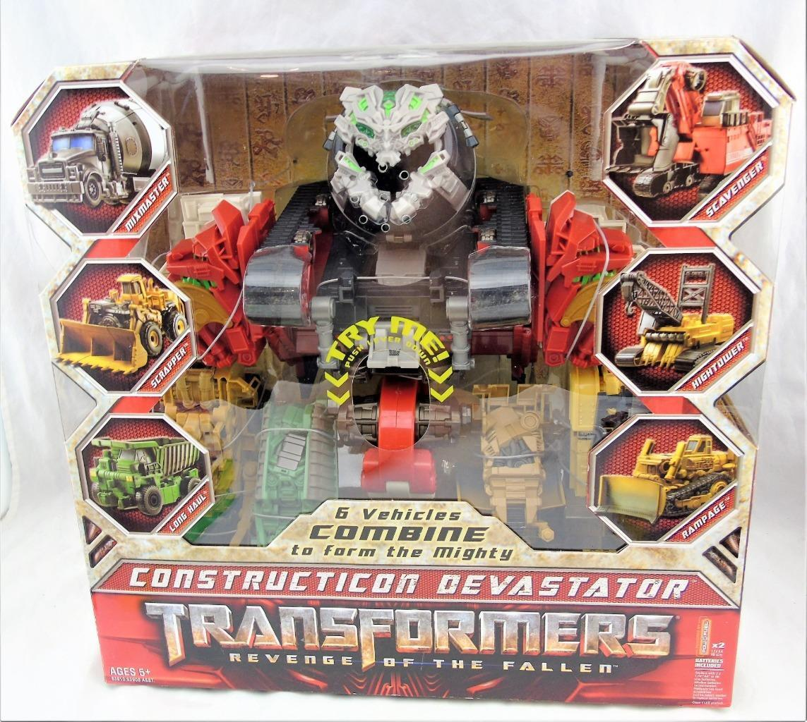 Transformers Revenge Of The Fallen ROTF Combiner Devastator MISB