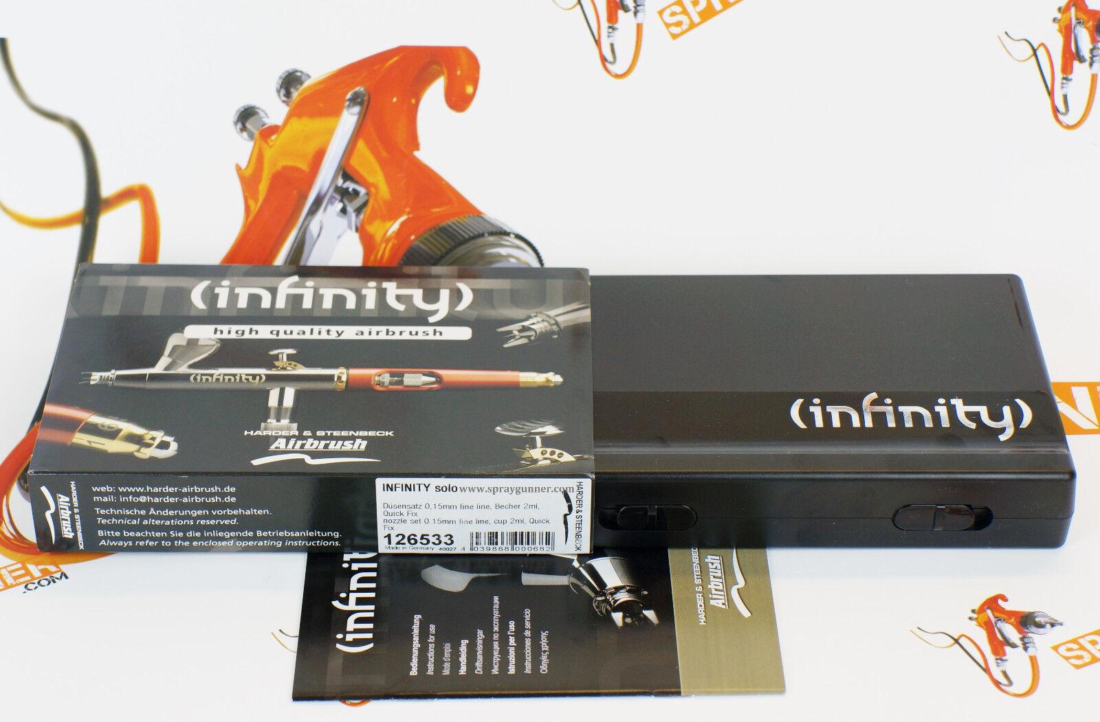 Infinity Solo Airbrushpistole 126533 Fine Art Airbrush Pistole Airbrush-City