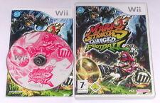 """Nintendo Wii juego """"mario moncada charged Football"""" completamente"""