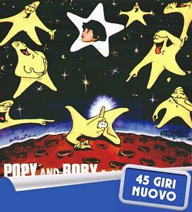 POPY-AND-BOBY-034-E-039-CADUTA-UNA-STELLA-034-45-GIRI-NUOVO-DRUMS-1980-RARO