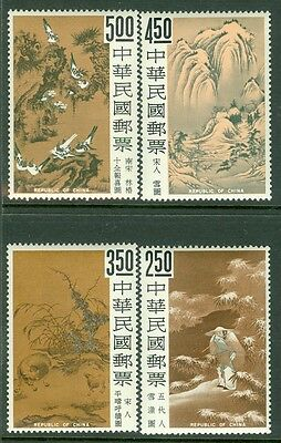 CHINA : 1966. Scott #1479-82 Very Fine, Mint Never Hinged. Catalog $139.00.