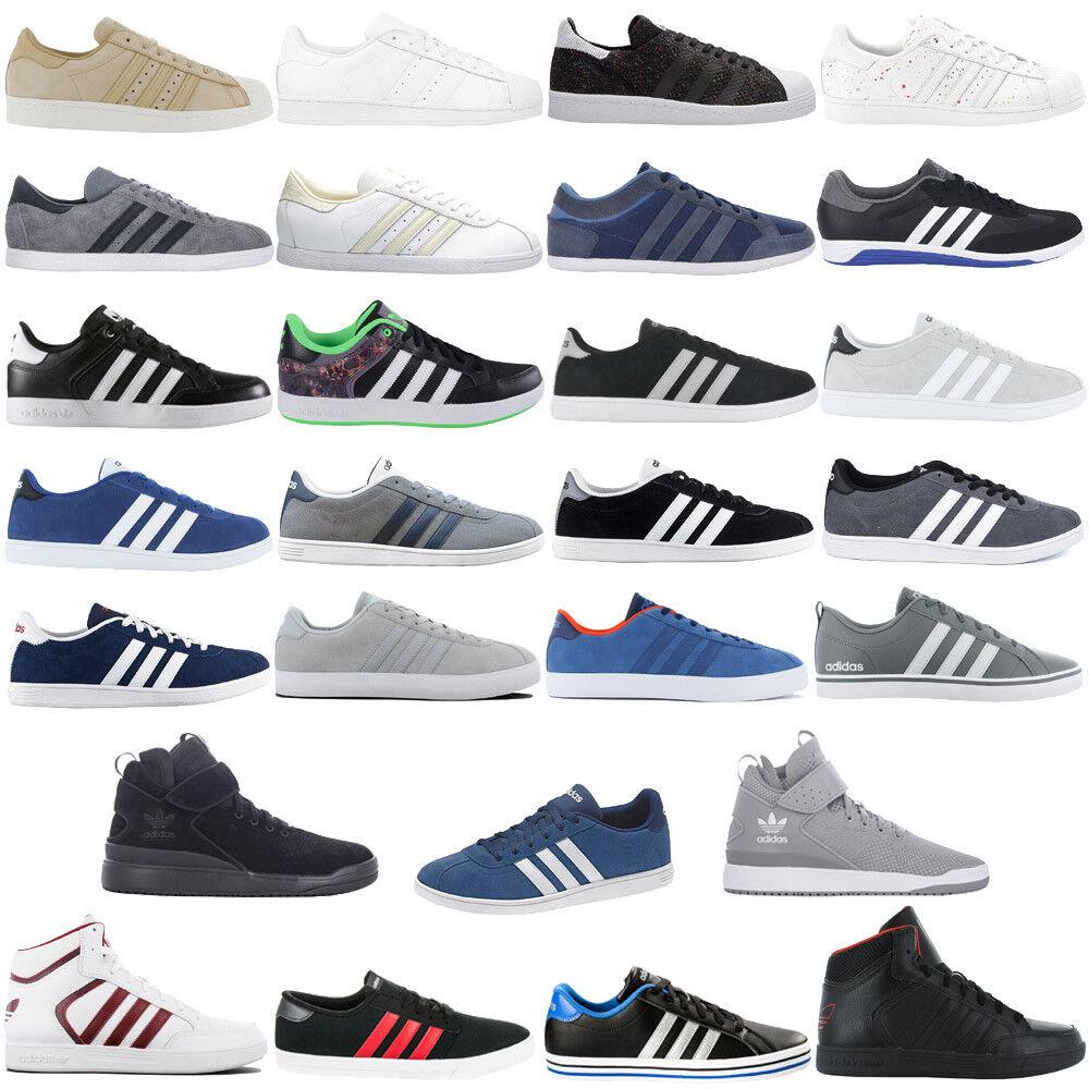 Adidas Hommes Sneaker Chaussures De Loisirs Baskets Skater Chaussure Sport Chaussure Neuf Soldes-