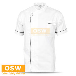 UNISEX MODERN COOL BREEZE CHEF SHORT/S JACKET RESTAURANT HOSPITALITY UNIFORM