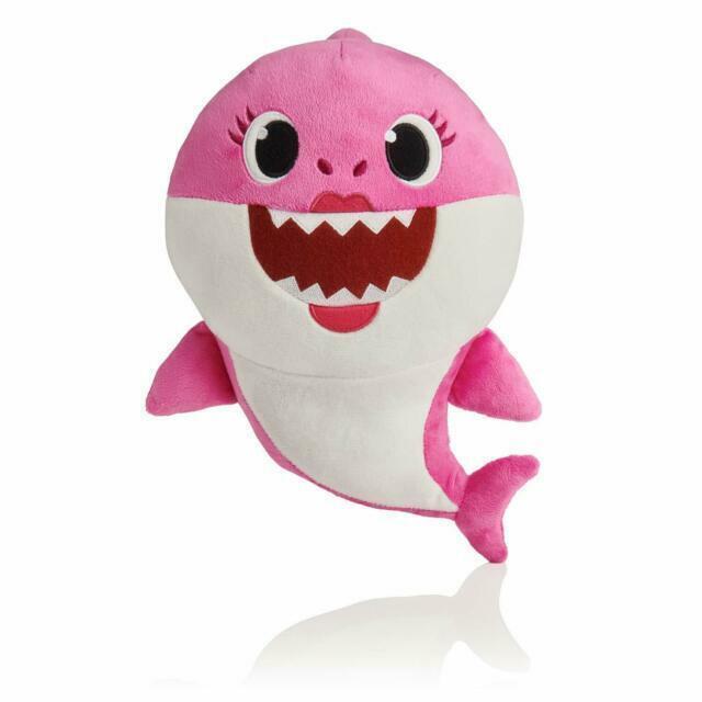 Baby Shark Official Singing Plush English Music Doll Baby Shark doo doo doo doo