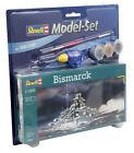 Model Set Bismarck Revell Plastic Kit Scale 1 1200