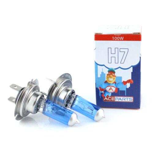 For BMW 5 Series E61 100w Super White Xenon High Main Beam Headlight Bulbs Pair