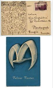 Argentina-1941-Via-CONDOR-LATI-publicity-card-40c-pmk-BUENOS-AIRES