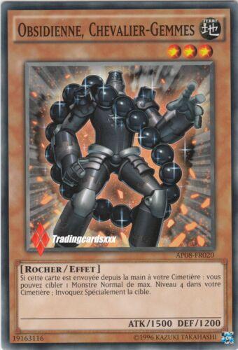 Chevalier-gems//gem-knight: ap08-fr020 ♦ obsidian ♦ yu-gi-oh vf//common