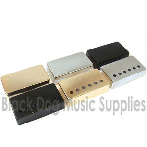 Humbucker-Guitar-Pickup-Covers-in-Chrome-Black-or-Gold