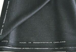 100-English-wool-fabric-suit-length-3-20m-very-dark-navy-blue-pinstripe