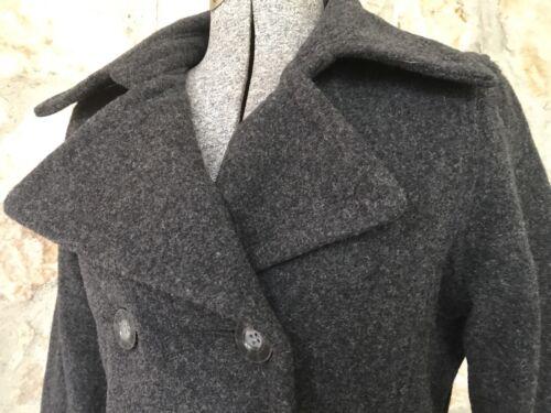Warm Frakke Wool Woolrich 15414 Dobbelt Xs Brystjakke Onyx Sort Størrelse Peacoat qqpxw0EU