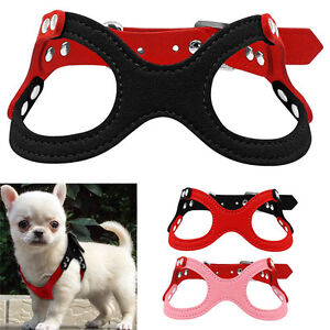 Cute Small Dog Harness Vest Soft Harness For Chihuahua Yorkie Xxxs