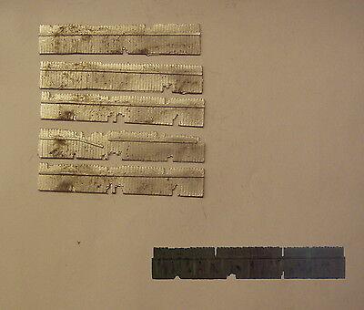 P/&D Marsh N Gauge n Scale B151 Horizontal sleeper fencing casting requires paint