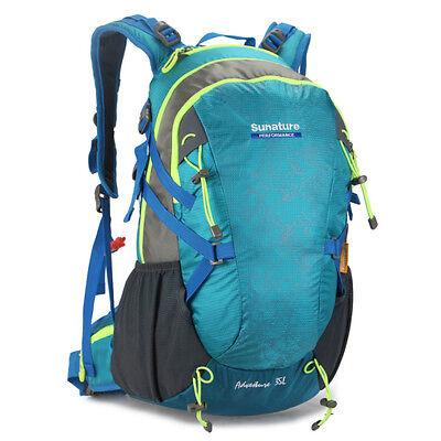 Waterproof laptop Sport Travel internal Frame Hiking Camp Backpack bag men women