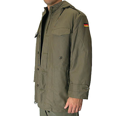 Genuine German Army Cold Weather Nato Parka Jacket. Size Medium Regular - Gr 10