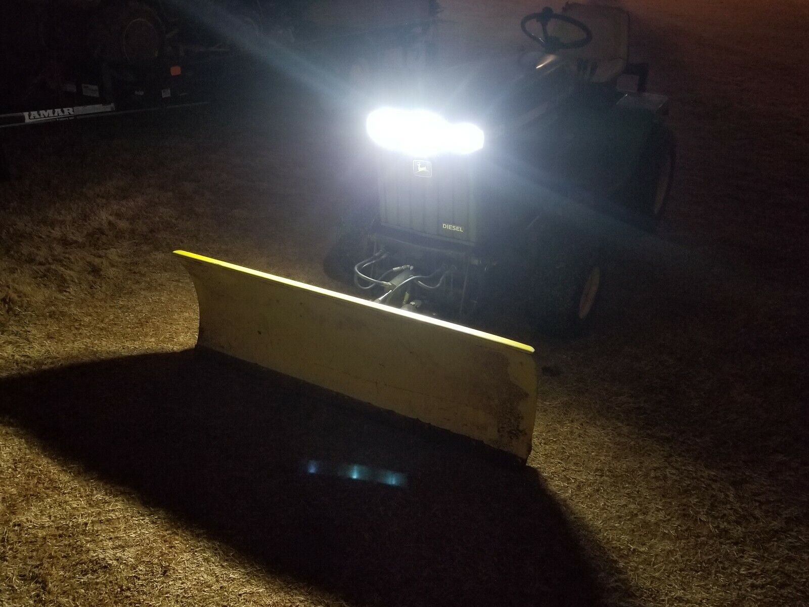 2 SUPER BRIGHT LED light bulbs Kubota older style lights pn 31391-34360 tractor