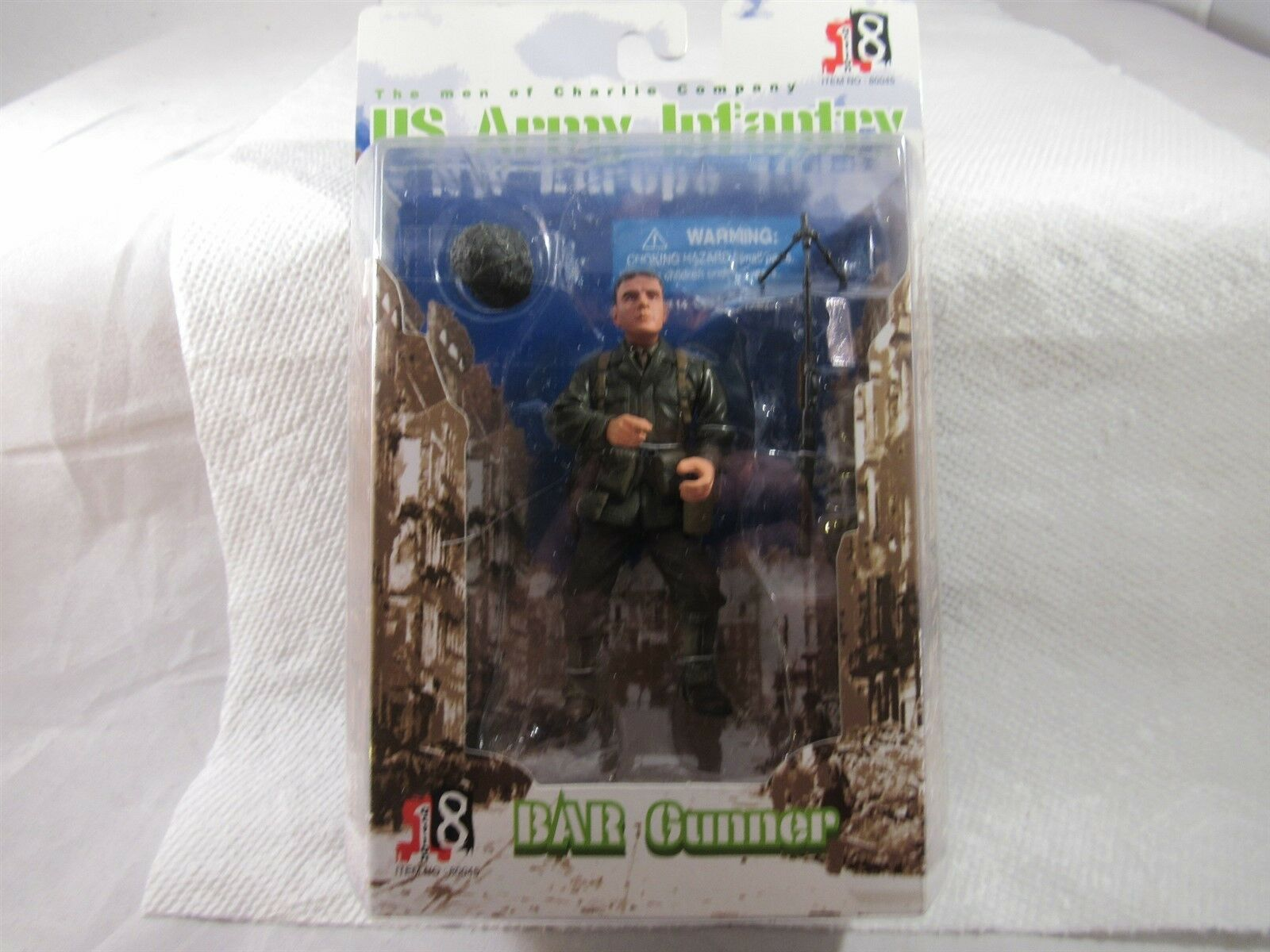 2003 DRAGON MODELS ACTION 8 BAR GUNNER  DUTCH  ARMY NW EUROPE 1944 3 1 2  FIGURE